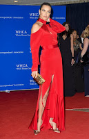 adriana lima sexy red gown best red carpet dresses