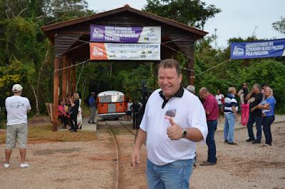 Deputado Dr. Neidson prestigia inauguração do passeio de litorina na Estrada de Ferro Madeira Mamoré