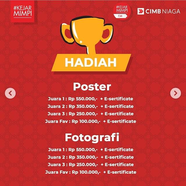 Lomba Desain Poster dan Fotigrafi Kejar Mimpi Competition Edisi Ramadan
