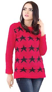 Sweater Wanita Bintang Original INFICLO