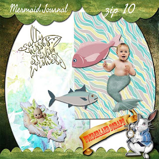 Zip 10 of Mermaid Journal freebie