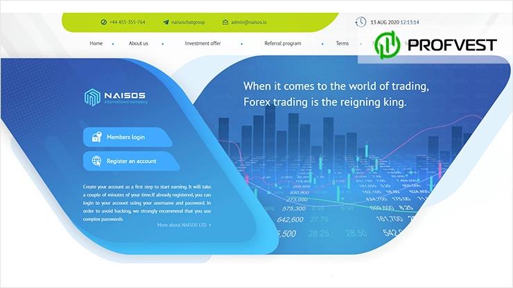 Naisos LTD обзор и отзывы HYIP-проекта