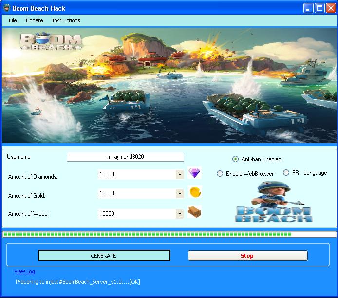 boom beach mod apk private server 2018