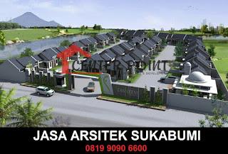 Desain Arsitek Modern Sukabumi