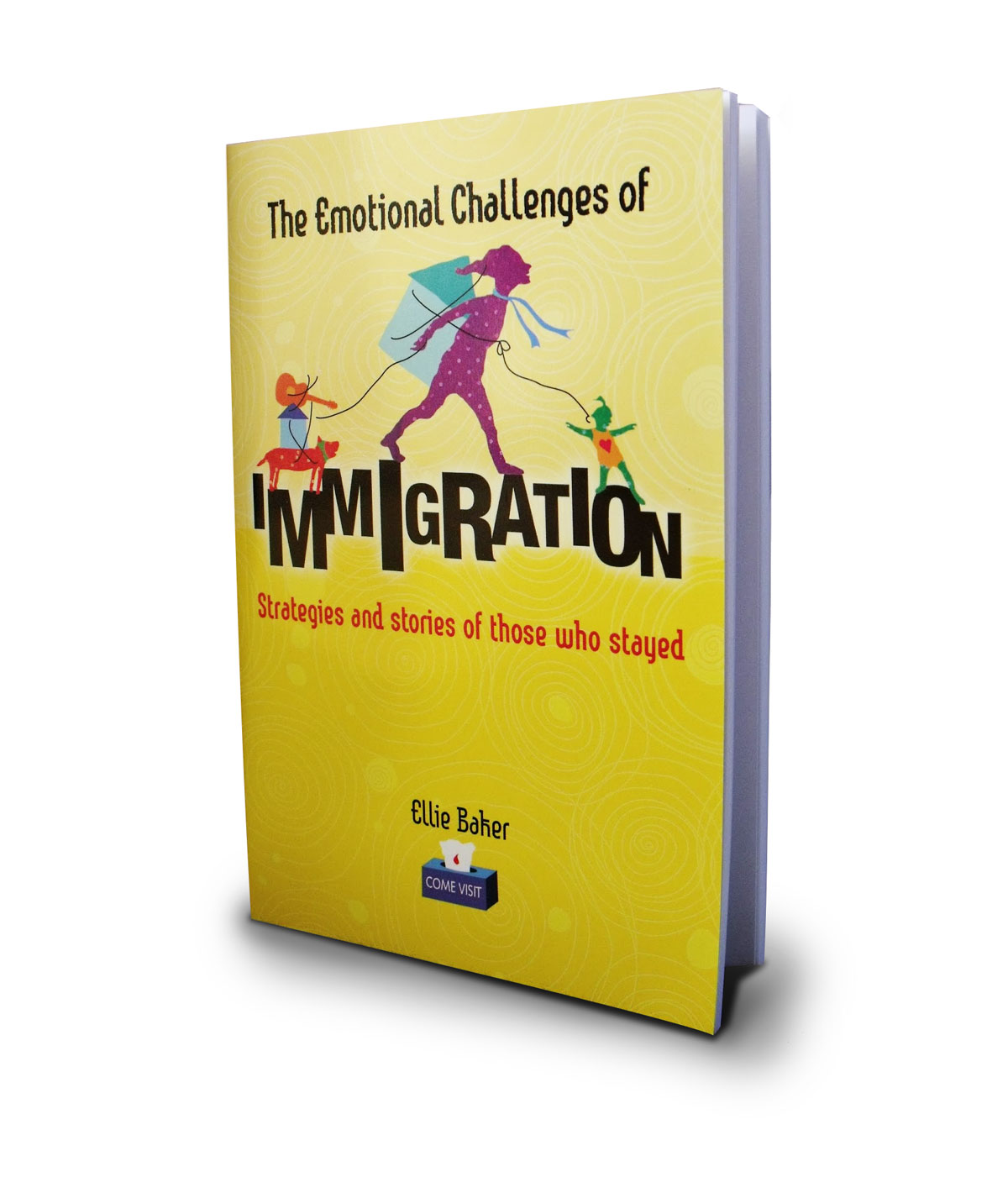 image of migrant emotions book by ellie baker