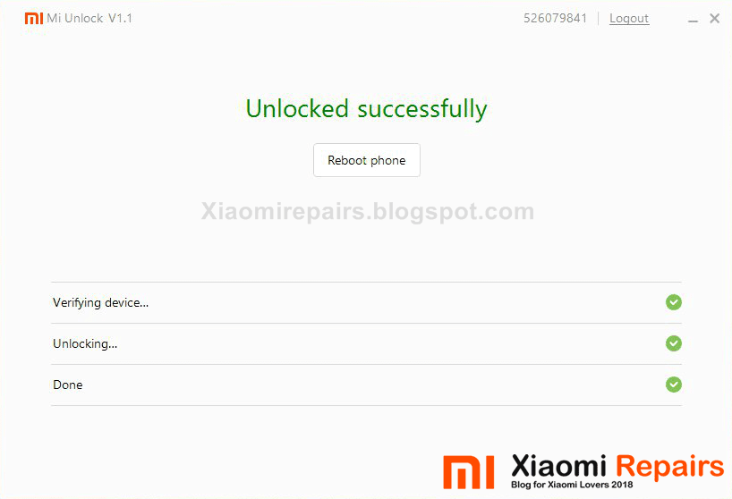 Unlock Bootloader of Xiaomi Redmi Note 5