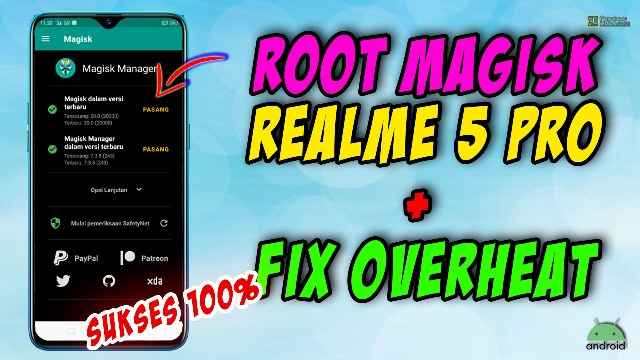 root realme 5 pro plus fix overheat
