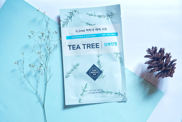 etude house, therapy air mask, tea tree
