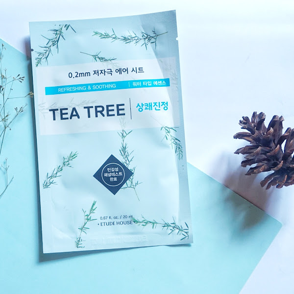 (Review) Etude House 0.2 mm Therapy Air Mask Tea Tree