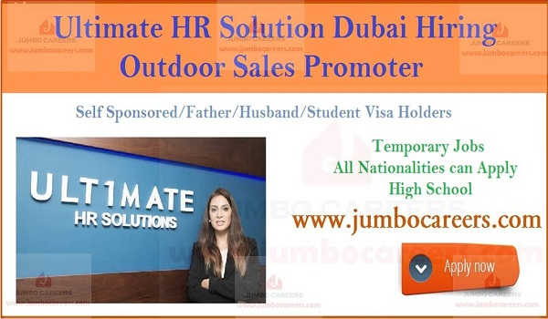 Walk In Interview in Dubai Today for Temporary Self Visa Sales Jobs