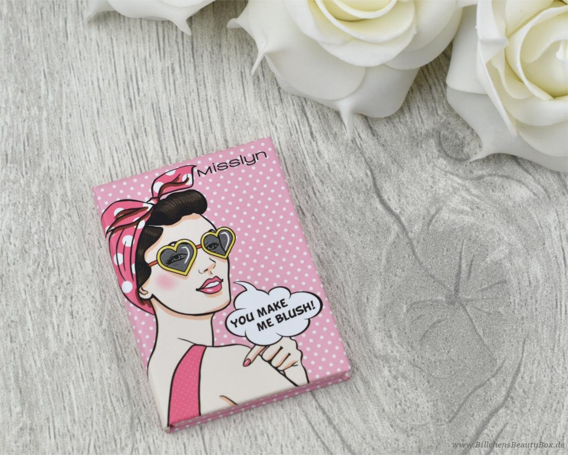 Pink Box Februar 2017 - Love & Kiss - Misslyn Pop It Up Powder Blush