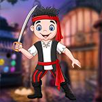G4K Humorous Pirate Boy Escape