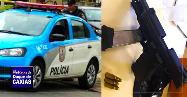 Polícia liberta reféns e assaltante é preso em Duque de Caxias