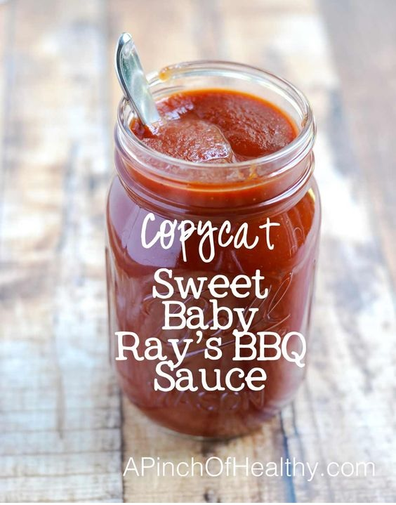 Copycat Sweet Baby Ray's BBQ Sauce {Made From Scratch}