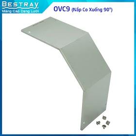 Bestray | Máng Cáp Dạng Lưới | Co, Tê | Nắp Co Xuống 90 Độ (OVC9)
