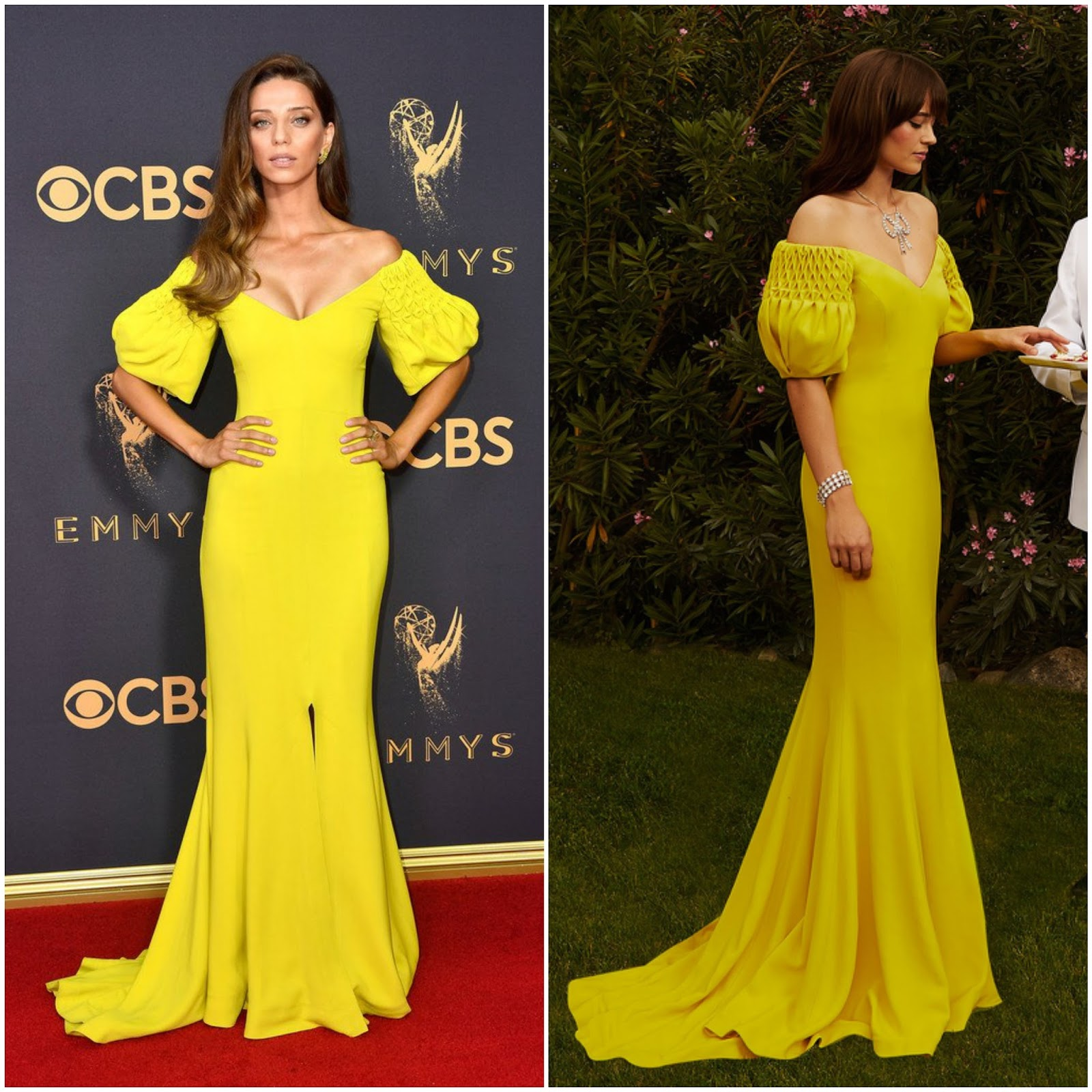 WHO WORE WHAT?.....2017 Primetime Emmy Awards Red Carpet ... Emmy S 2018