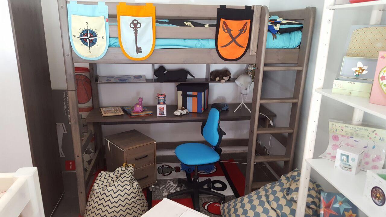 Offertissima letto con scrivania e libreria INCORPORATE