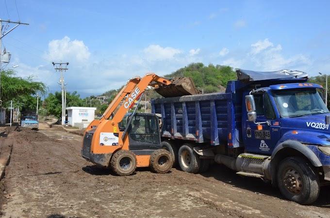 Distrito ejecuta intervenciones en zonas afectadas por las lluvias