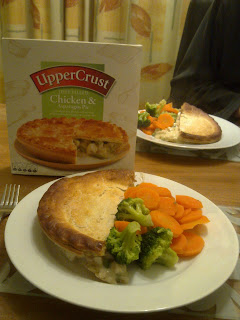 Pie Uppercrust Chicken and Asparagus