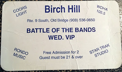 The Birch Hill nightclub Battle of the Bands pass