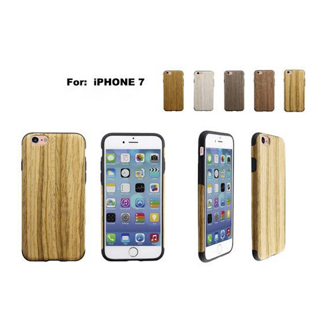 iphone 7 phone case wooden cover