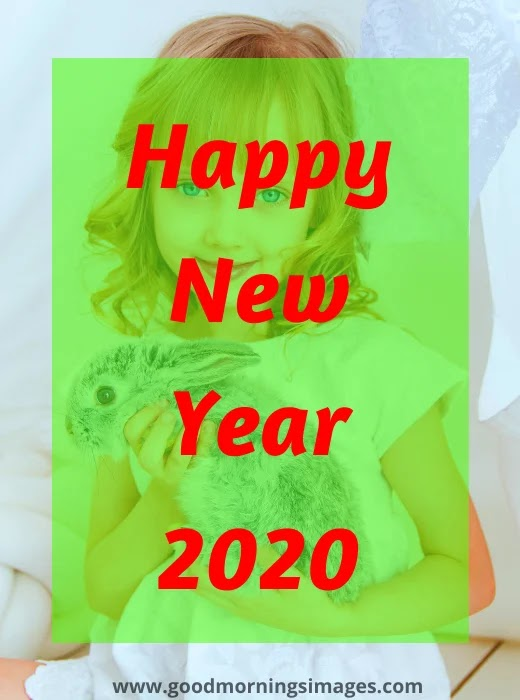 happy new year 2020 3d wallpaper