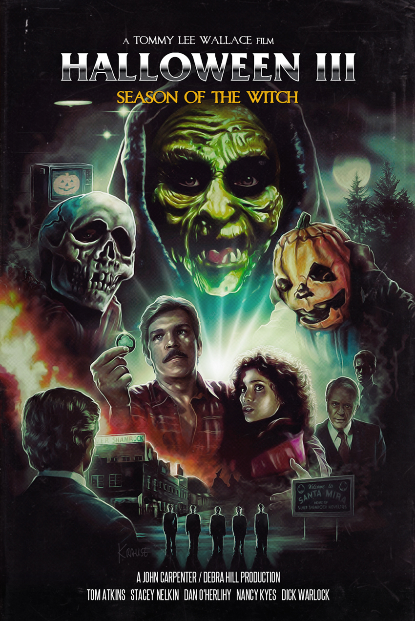 Movie Poster maximum overdrive movie poster : The Horrors of Halloween: HALLOWEEN III SEASON OF THE ...