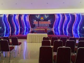paket dekorasi panggung lighting gathering puncak sentul bogor