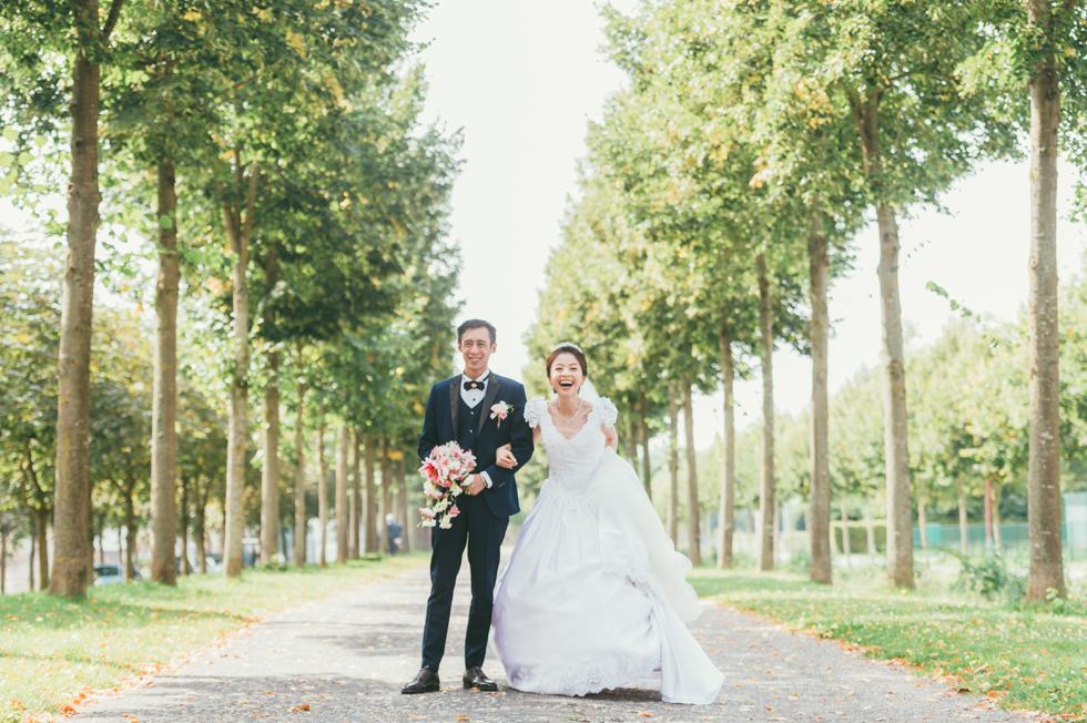 [巴黎婚禮] V&C | Paris (巴黎)。普羅旺 Provins