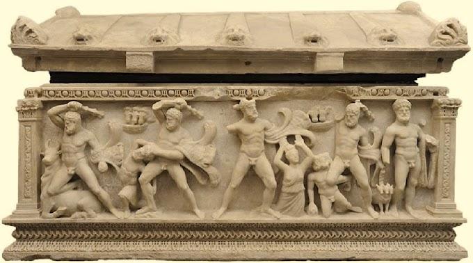 Ο «Σαρκοφάγος του Ηρακλή» επέστρεψε στην Αττάλεια μετά από 50 χρόνια