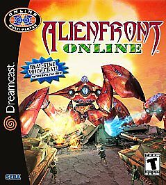 Alien Front Online Dreamcast cover art