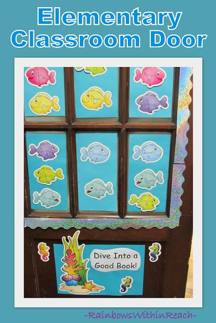 photo of: Classroom Door Decoration: Dive Into a Good Book