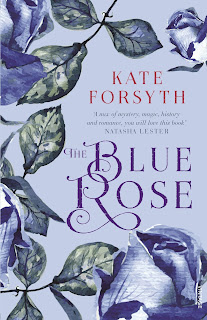The Blue Rose by Kate Forsyth book cover