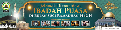 Spanduk Puasa Ramadhan CDR