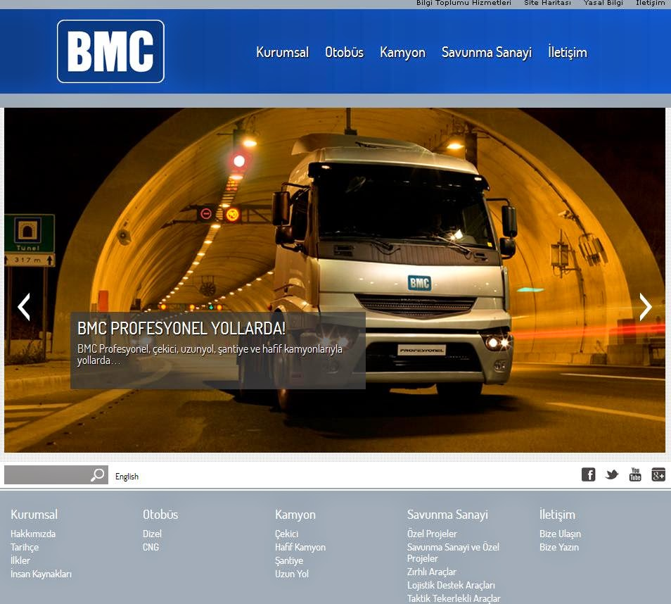 Yeni BMC  yollarda