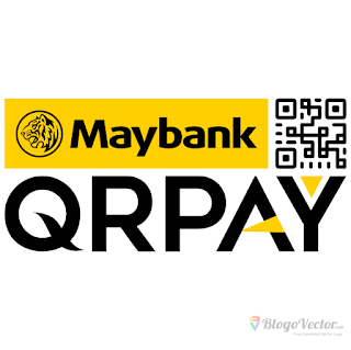 Maybank QR Pay Logo vector (.cdr)