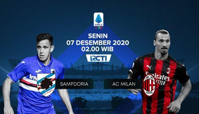 Sampdoria vs Milan - RCTI