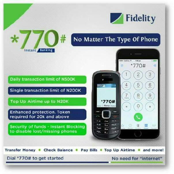 Fidelity Bank Transfer Code | Transfer Money, Pay Bills With *770#