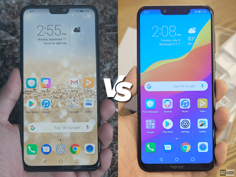 Honor 8X vs Honor Play Specs Comparison, which phone performs better?