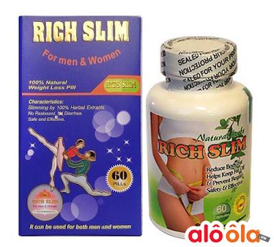 Rich Slim sản phẩm giảm cân hiệu quả nhất tại Mỹ