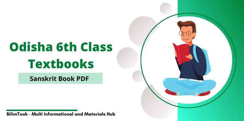 Odisha 6th Class Sanskrit Book PDF  Download 2021