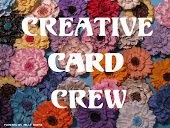 Top 3 at Creative Card Crew