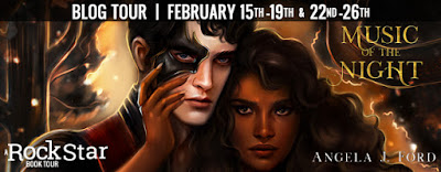 Blog Tour– Music of the Night by Angela J. Ford