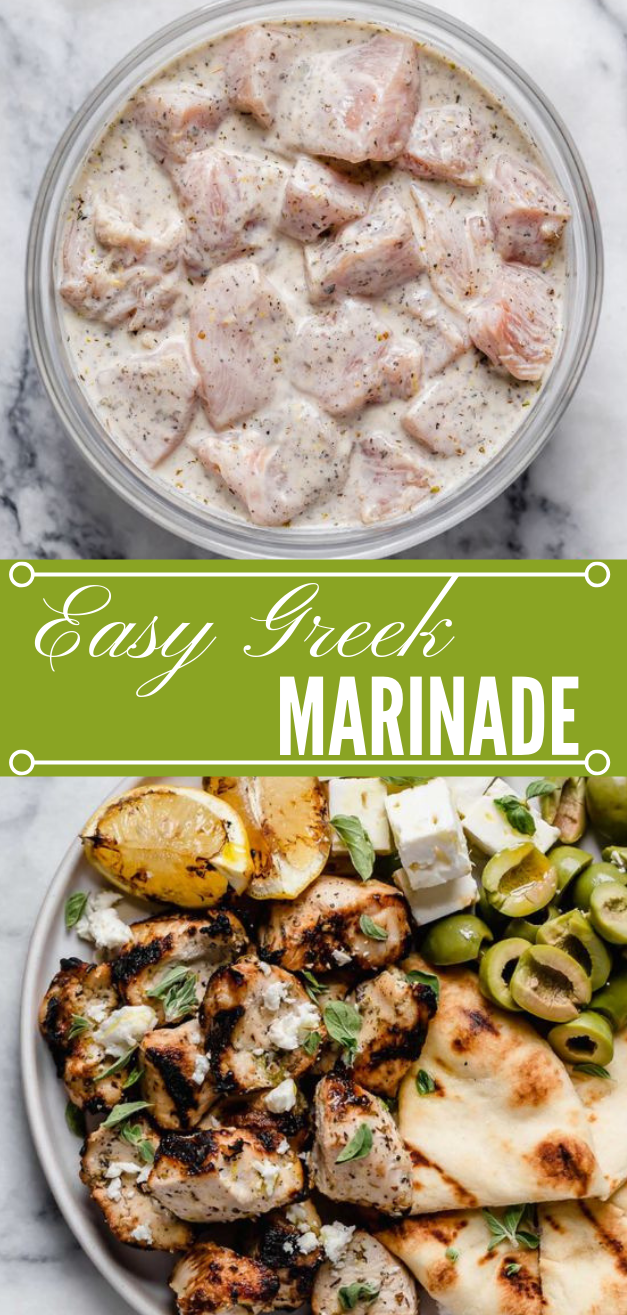 Greek Marinade #dinner #yummy #easy #healthyrecipes #lunch