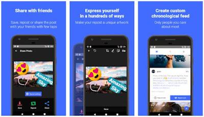 Aplikasi Repost Instagram Terbaik dan Gratis 3