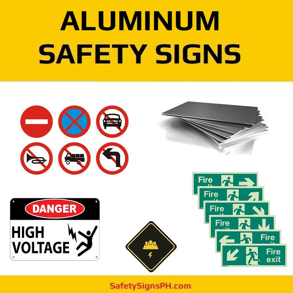 aluminum safety signs sheet or composite safetysignsph com
