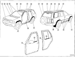 repair-manuals: Nissan Pathfinder R50 1997 Repair Manual