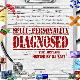 New Music:  Split-Personality - Diagnosed Artwork