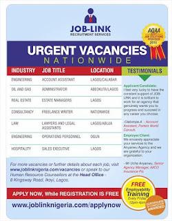 Joblink recruitment agency