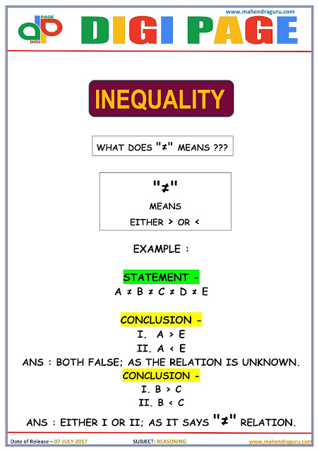 DP | INEQUALITY | 07 - JULY - 17 |